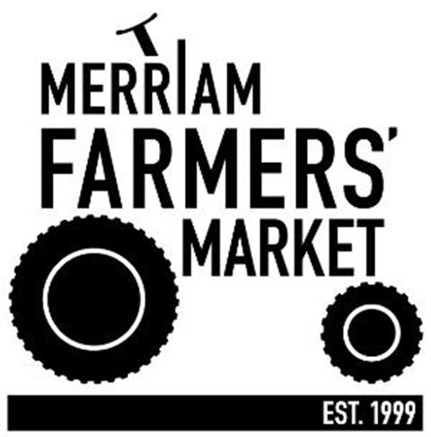 Merriam Farmers Market logo resembling a tractor